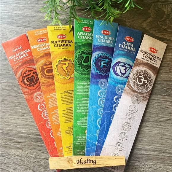 Other - Choose Your Chakra • Incense Packs